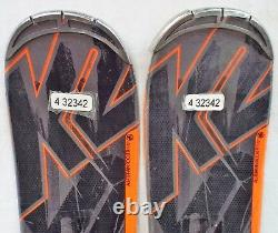 14-15 K2 Rictor 82 XTi Used Men's Demo Skis with Bindings Size 177cm #432342