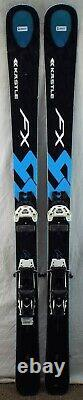 14-15 Kastle FX94 Used Men's Demo Skis withBindings Size 166cm #230037