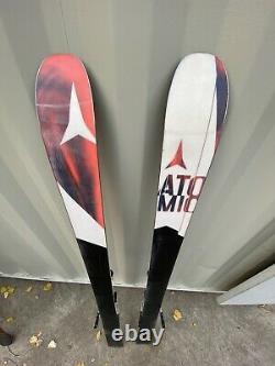 15-16 Atomic Vantage 95 C Used Men's Demo Skis with Bindings Size 186cm #819688