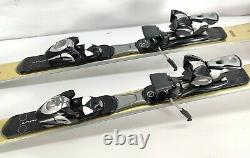 155 cm VOLANT VERTEX Gold Skis with Salomon S 710 Bindings