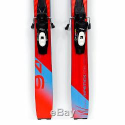 156 Elan Ripstick 94W 2019/20 Women's All Mountain Skis with SP13 Bindings USED