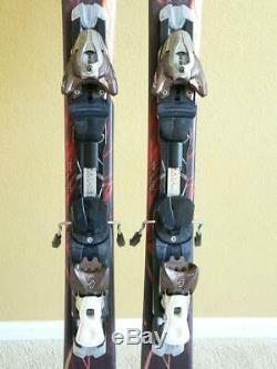 156 Salomon Jade All Mountain Women Skis with Salomon Z10 Adjustable Bindings