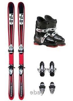 156cm 365 Zephyr Skis With Tyrolia Bindings & Boots Mounted Package k2-rski19