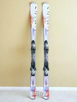 158cm ATOMIC BETA E. ZONE E. TL All Mountain Skis w DEVICE 310 Adjustable Bindings