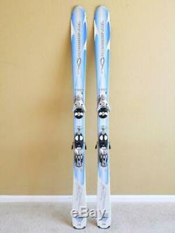 158cm ROSSIGNOL BANDIT B2 All Mountain Women's Skis with Salomon S912 Ti Bindings