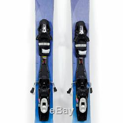 159 Blizzard Black Pearl 98 Women's All Mountain Skis Tyrolia SP10 Bindings USED