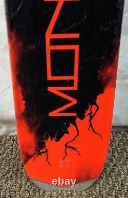 16-17 Head Monster 88 Ti Used Men's Demo Skis withBindings Size 177 cm #615437