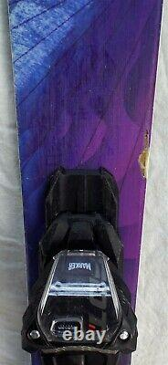 16-17 Nordica Santa Ana 93 Used Women's Demo Skis withBindings Size 161cm #347437