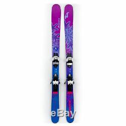 161 Nordica Santa Ana 93 17/18 Women's All Mountain Skis with Attack 11 Bindings