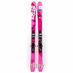 164 Faction Agent 90 Women's All Mountain Skis with Marker Squire Bindings USED