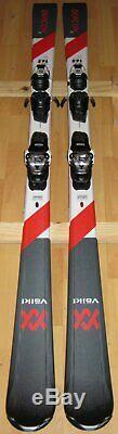 165 cm Volkl Deacon X men's all mountain skis + Marker v-motion 10 bindings