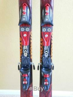 168cm ATOMIC REX Wide Body All Mountain Skis with ATOMIC CR614 Bindings