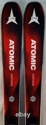 17-18 Atomic Vantage 85 Used Men's Demo Skis with Bindings Size 165cm #174026