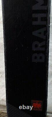 17-18 Blizzard Brahma Used Men's Demo Skis withBindings Size 180cm #230258