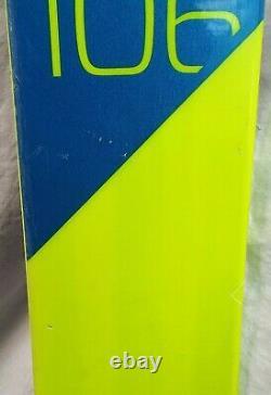 17-18 Elan Ripstick 106 Used Men's Demo Skis withBindings Size 188cm #346714