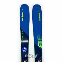 172 Elan Ripstick 88 2019/2020 All Mountain Skis with Tyrolia SP13 Bindings USED