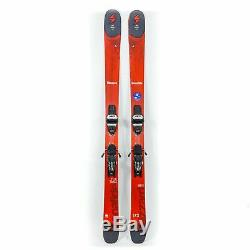 173 Blizzard Bonafide All Mountain Skis with Marker Griffon Bindings USED