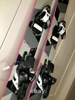 175 Black Crows Corvus Skis Salomon STH2 13 WTR bindings