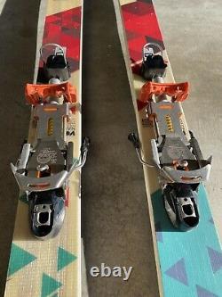177cm Volkl Nanuq Skis With 22 Designs Outlaw X NTN bindings
