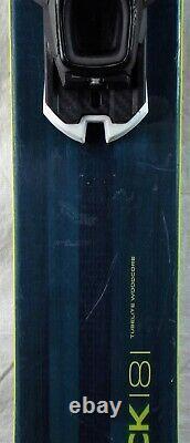 18-19 Elan Ripstick 106 Used Men's Demo Skis withBindings Size 181cm #230043