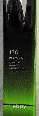 18-19 Volkl Deacon 76 Used Men's Demo Ski withBinding Size 176cm #174196