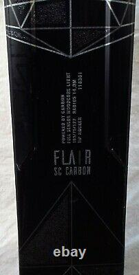 18-19 Volkl Flair SC Carbon Used Women's Demo Ski withBinding Size 165cm #174190
