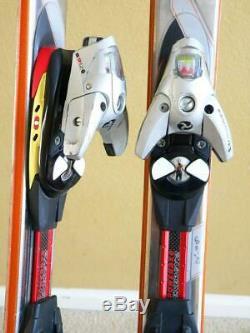 180cm VOLANT GRAVITY 71 Steel Top All Mountain Skis with SALOMON S912 Ti Bindings