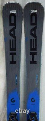 19-20 Head Supershape i. Titan Used Men's Demo Skis withBinding Size 170cm #H174991