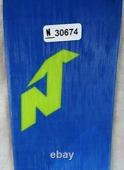 19-20 Nordica Santa Ana 88 Used Women's Demo Skis withBindings Size 158cm #N30674