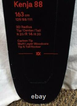 19-20 Volkl Kenja 88 Used Women's Demo Skis withBindings Size 163cm #819922
