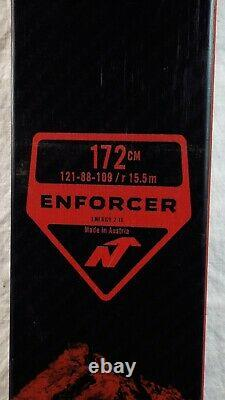 20-21 Nordica Enforcer 88 Used Men's Demo Skis withBindings Size 172cm #346760