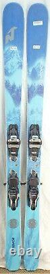 20-21 Nordica Santa Ana 88 Used Women's Demo Skis withBindings Size 165cm #347084