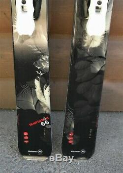 2014 Temptation 88 ROSSIGNOL 162cm All Mountain Skis with SALOMON Z12 Bindings