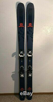 2018 Salomon QST 99 Skis 181 cm Warden Demo Bindings Mid Fat All Mountain NICE