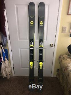 2019 170cm Rossignol Smash 7 All-Mountain Freeride Skis, Look Xpress 10 Bindings