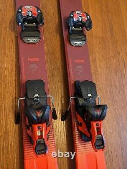 2019 ATOMIC VANTAGE 97 TI With ATOMIC WARDEN 13 BINDINGS 180 CM USED ONCE