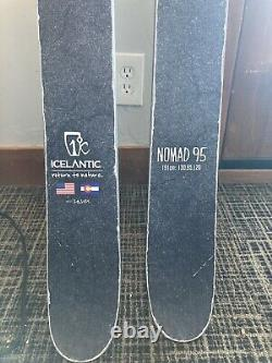 2019 Icelantic Nomad 95 Demo Skis (191cm) with Tyrolia Attack 13 AT Demo Bindings