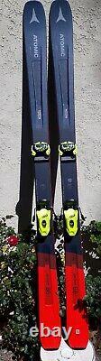 2020 Atomic Vantage C Skis 181cm / Tyrolia Attack Bindings. BETTER than NEW