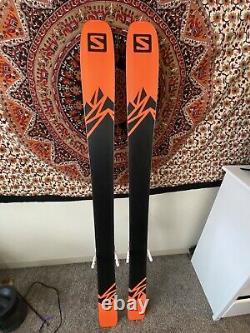 2021 Salomon QST 106 All Mountain Ski 181cm