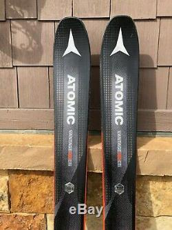 ATOMIC Vantage 100 CTI 172cm All Mountain Skis with Tyrolia Attack 13 Bindings