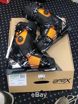 Apex HP Ski Boot Mondo Cm 29.0 US 11 Black/Orange Comfortable All Mountain