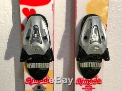 Armada Twin Tip Park All Mountain Women's Skis 161 cm. Tyrolia SL100 Bindings