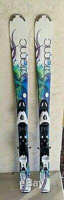 Atomic Affinity Air ALL- MOUNTAIN White Skis & XTL 9 Lady Bindings 140CM Womens