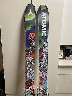 Atomic Bent Chetler 100 Grateful Dead Limited Edition Skis 180 With Look Pivot