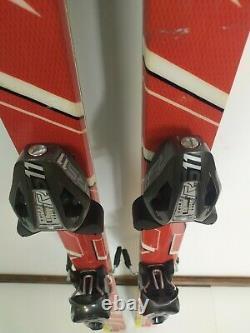 Atomic Race GS 175 cm Ski + BRAND NEW Fischer RS 11 Bindings Winter Fun Snow