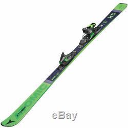 Atomic Redster X5 Alpine Skiing + ft 10 GW Binding Ski Set all Mountain 175 cm