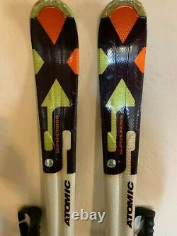 Atomic Supercross SX 5 166 cm Ski + Atomic Neox 12 Bindings + Poles 44 NICE