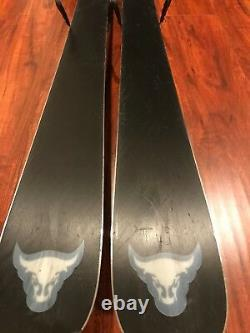 BLIZZARD BRAHMA SKIS 180 CM WithBINDINGS 2017-2018. Used