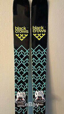 Black Crows Atris All Mountain Skis 178 Used WITH BINDINGS