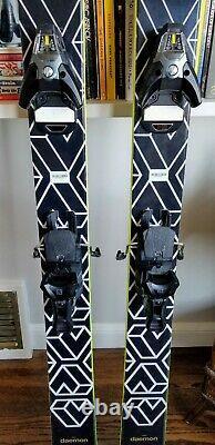 Black Crows Daemon Skis 188 Cm with Salomon STH2 WTR 13 Ski Binding Excellent